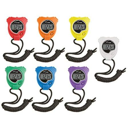 Stop Watch 6Pk Multi Gemstone Watch