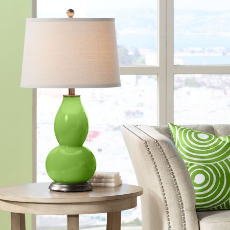 Green Double Gourd (Color + Plus Rosemary Green Double Gourd Table Lamp)