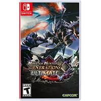 Monster Hunter Generations Ultimate, Capcom, Nintendo Switch, 013388410095