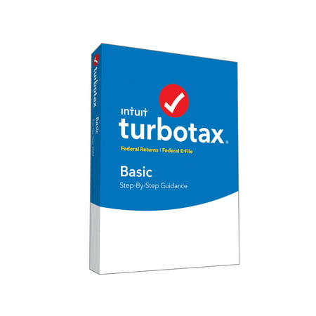 Intuit INT940800F061 TurboTax Basic for Tax Year 2017 Mac|Windows