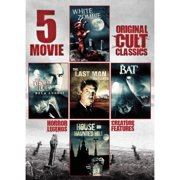 5-Movie Collection: Original Cult Classics, Vol. 1 White Zombie   The Devil Bat   The Last Man On Earth   The Bat  ... by