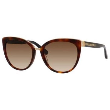 0112 Crystal (JIMMY CHOO Sunglasses DANA/S 0112 Havana 56MM )