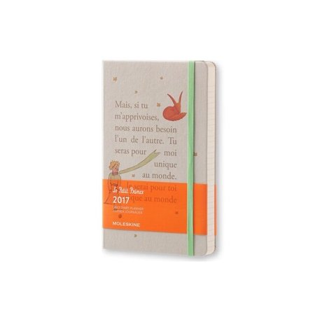 Moleskine 2017 Le Petit Prince Daily Large Planner, Hard Cover, 5 x 8.25 in.