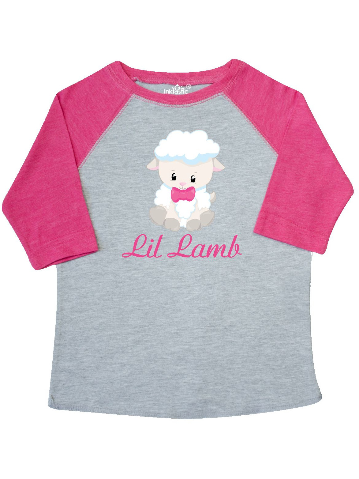 inktastic Lil Lamb Girl Toddler T-Shirt