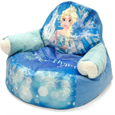 Frozen Elsa Character Figural Toddler Bean Chair Walmart Com