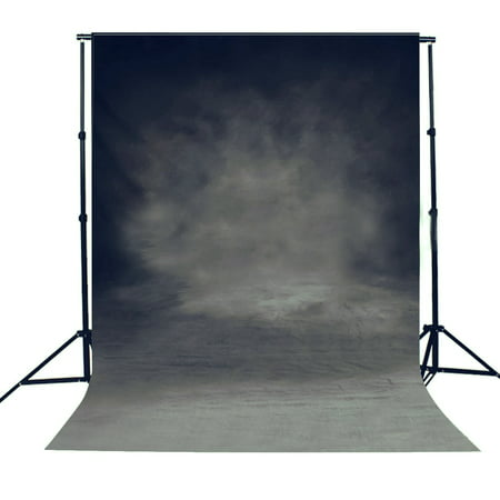 NK HOME Studio Photo Video Photography Backdrop 3x5ft Gothic Dark Style Painting & Floor Printed Vinyl Fabric Background Screen Props - Prom Backgrounds