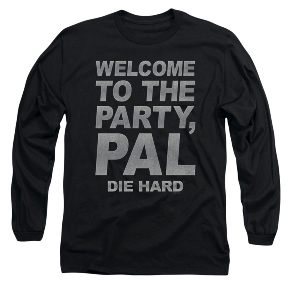 Die Hard Men's  Party Pal Long Sleeve Black