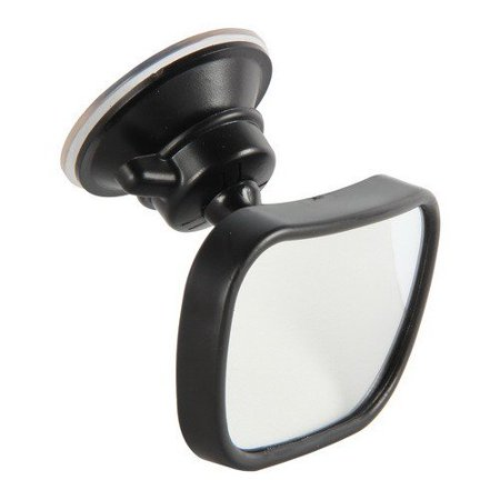 Side Mirror For Car, Clip On Baby Mirror With Suction Cup Blind Spot Auto (Suction Cup Clip)