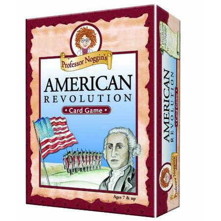 's American Revolution - A Educational Trivia Based Card Game For Kids, Professor Noggins series of educational card games encourages kids to.., By Professor Noggin (Professor Noggin)