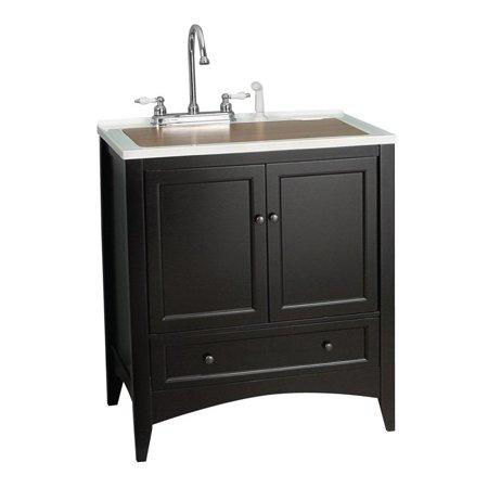 Foremost Berkshire 30 In Single Bathroom Vanity Espresso