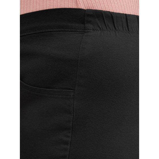 b69f70900 Just My Size - Women's Plus-Size 2-Pocket Pull-On Stretch Woven Pants,  Available in Regular and Petite Lengths - Walmart.com
