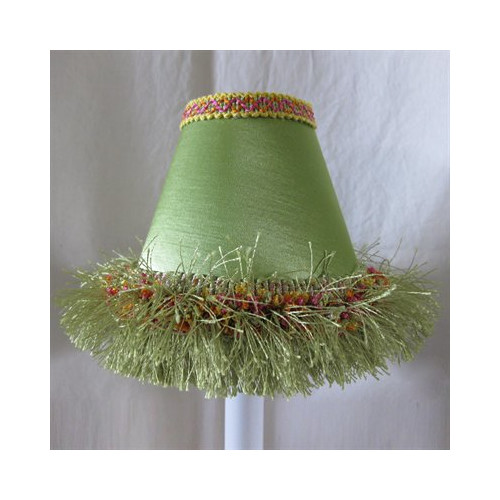 Silly Bear Lighting Caribbean Lime Table Lampshade by Silly Bear Lighting