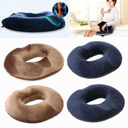 Moaere Donut Tailbone Pillow Hemorrhoid Cushion Memory Foam Relief Treatment Bed Sores Prostate