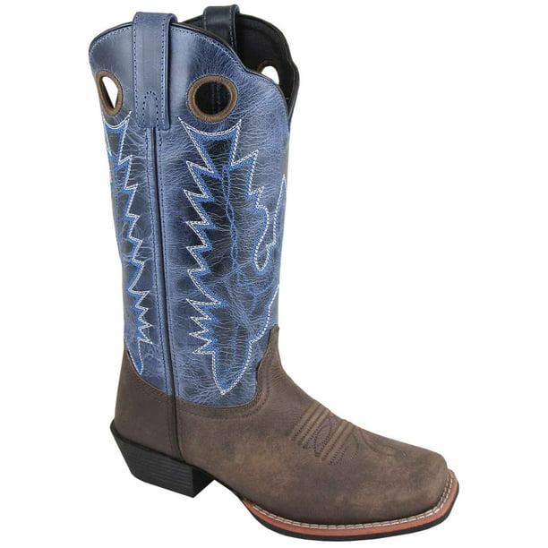 Smoky Mountain Womens Mesa Crackle Boot Square Toe 6012