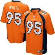 Derek Wolfe Denver Broncos Nike Game Jersey - Orange