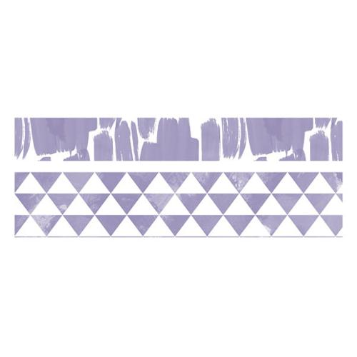 We R Watercolor Washi Tape 2/Pkg-Amethyst