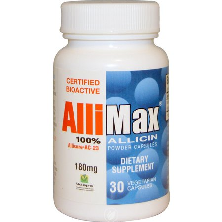 Allimax 30 Capsules (Allimax Nutraceuticals Allimax 180mg 30 Capsule, Pack of 2 )