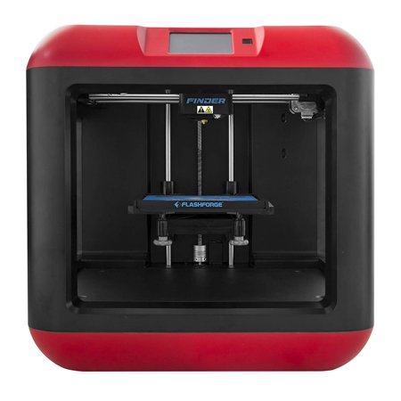 FlashForge Finder 3D Printer with Cloud, Wi-Fi, USB cable and Flash drive (Best Hobby 3d Printer 2019)