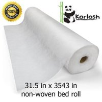 PandaSpa by Karlash Disposable Non Woven Bed Sheet Roll Precut Hole Massage table paper roll
