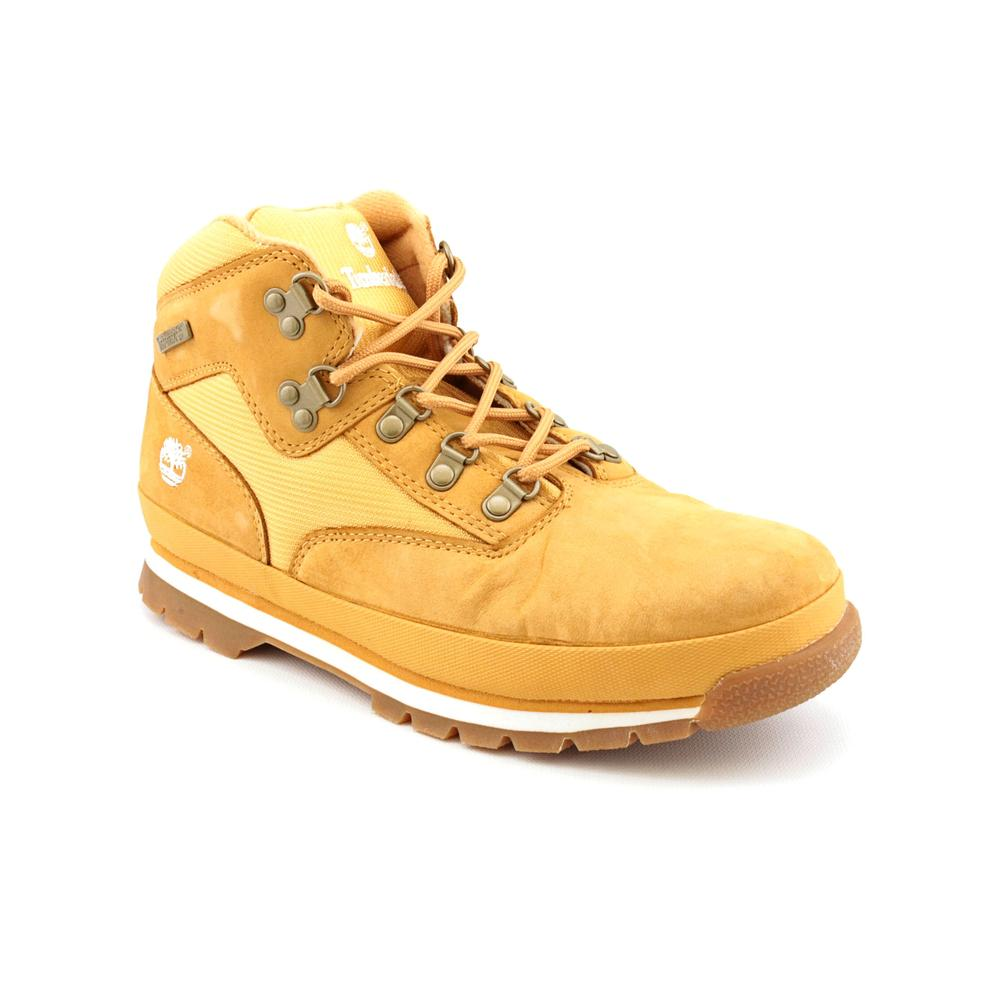 Timberland Euro Hiker   Round Toe Leather  Hiking Boot