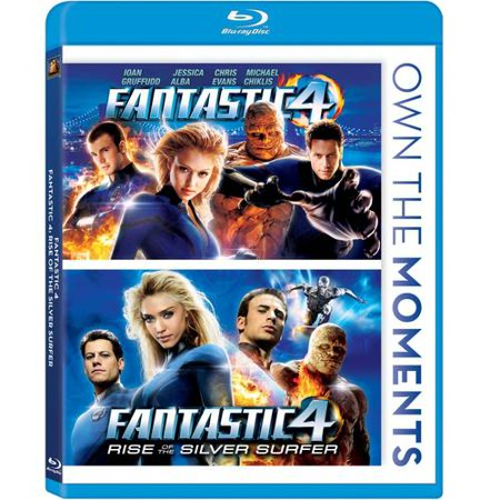 Fantastic 4 / Fantastic 4: Rise Of The Silver Surfer (Blu-ray) (Widescreen)
