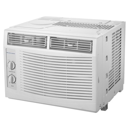 Cool living 5 000 btu window air conditioner 115v with for 120v window air conditioner