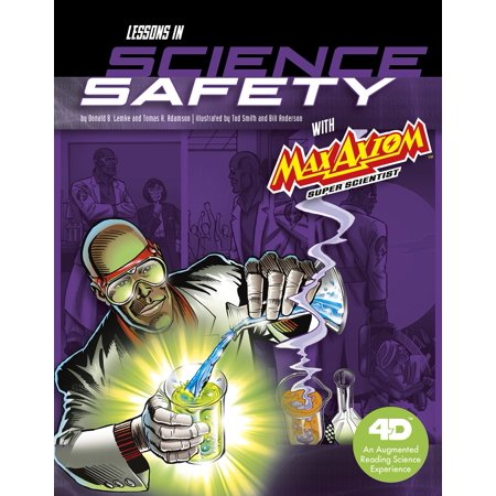 Lessons in Science Safety with Max Axiom Super Scientist: 4D an Augmented Reading Science Experience](Halloween Safety Lesson)