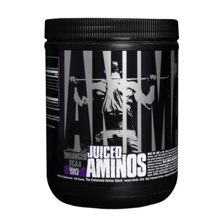 Universal Nutrition Animal Juiced Aminos Powder, Grape, 30 Servings