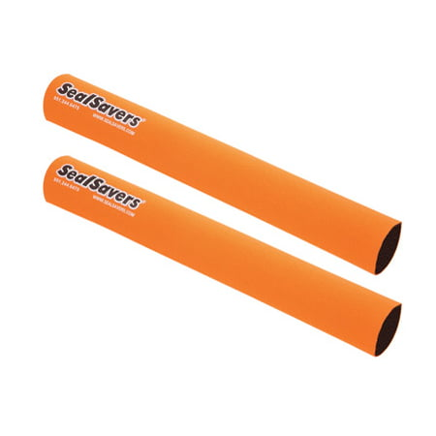 Seal Savers Fork Covers - Inverted Forks 44-50mm Fork Tube, Long, Orange for Husaberg FE 390 2010-2012