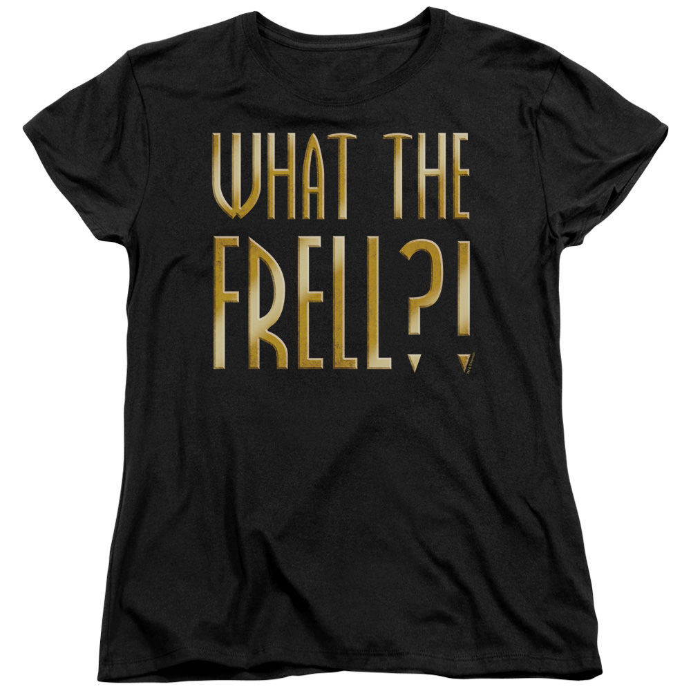 Farscape/What The Frell   S/S Women's Tee   Black     Far111