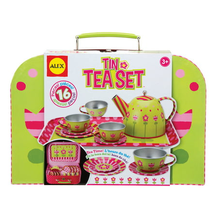 ALEX Toys Tin Tea Set ()