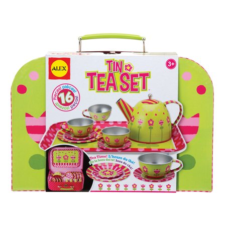 ALEX Toys Tin Toy Tea Set