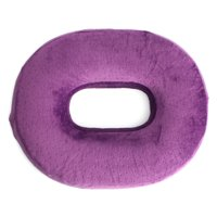 "16"" Memory Sponge Ring Seat Pad, Comfort Donut Chair Seat Cushion for Hemorrhoid Treatment Bed Sores Coccyx & Tailbone Pain Relief"