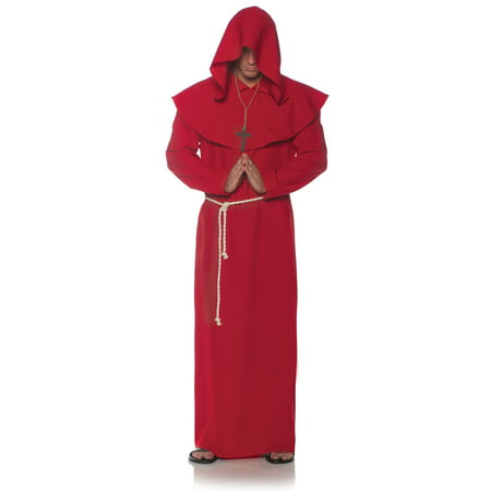 Men's Monk Robe - Red