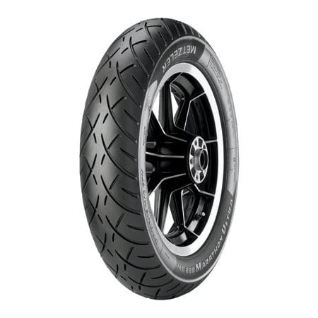Metzeler ME888 Marathon Ultra Front Motorcycle Tire MT90B-16 (72H) Black Wall for Victory V92T Touring Cruiser - Victory Touring Cruiser