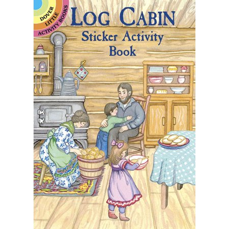 Little Children Shape Stickers (Dover Little Activity Books: Log Cabin Sticker Activity Book (Other) )