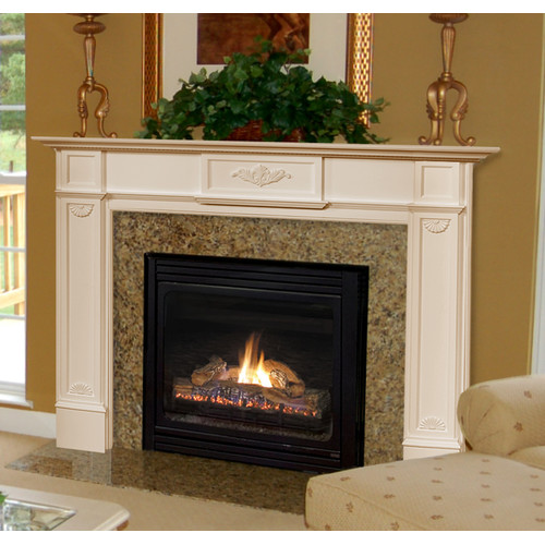 Pearl Mantels The Monticello Fireplace Mantel Surround