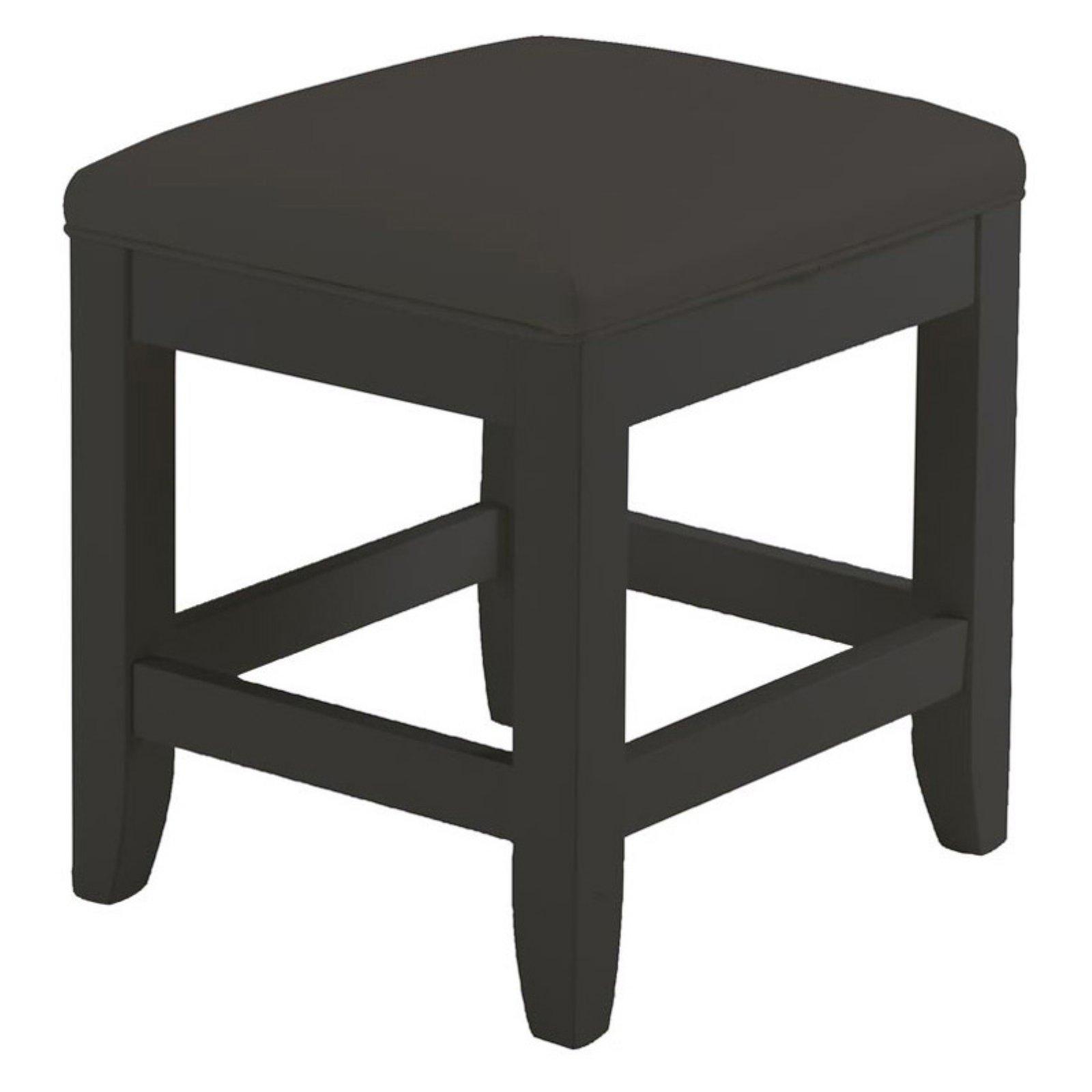 Bedford Black Vanity Bench