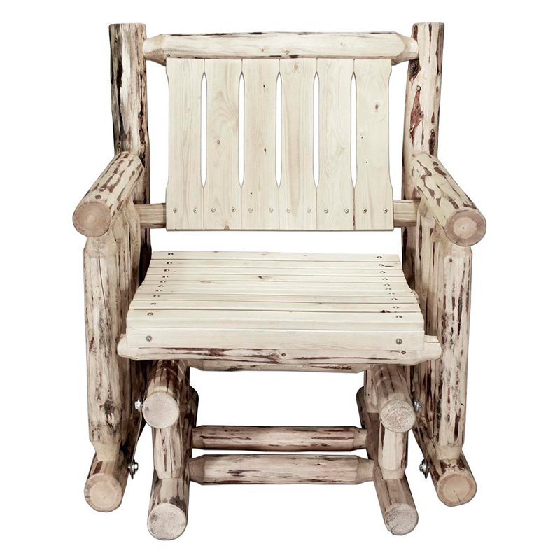 Montana Woodworks Outdoor Glider Chair