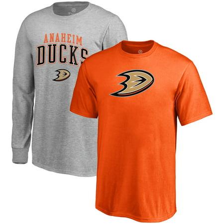 Anaheim Ducks Fanatics Branded Youth T-Shirt Combo Set - (Anaheim Mall)
