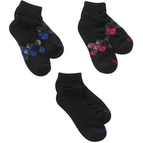 Ped Low Cut With Arch Socks, 3 Pair