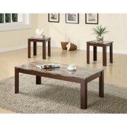 furniture sets living room. Coaster Furniture 3 Piece Casual Coffee Table Set Living Room Sets  Walmart com
