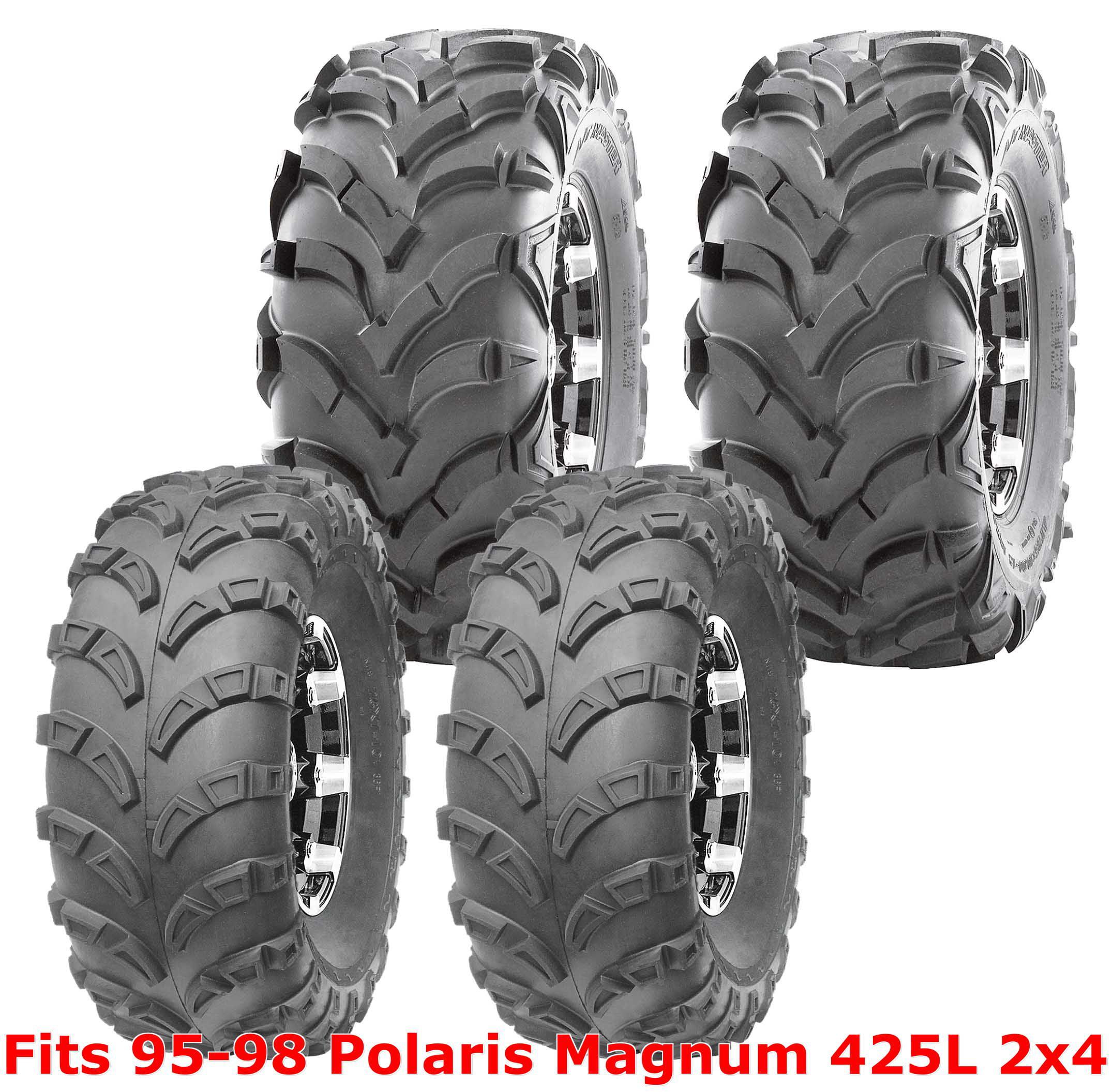 95-98 Polaris Magnum 425L 2x4 Full Set WANDA ATV tires 23x7-10 /& 24x11-10 6PR