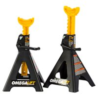 OMEGA LIFT 32128 12 Ton Dual Locking Jack Stands