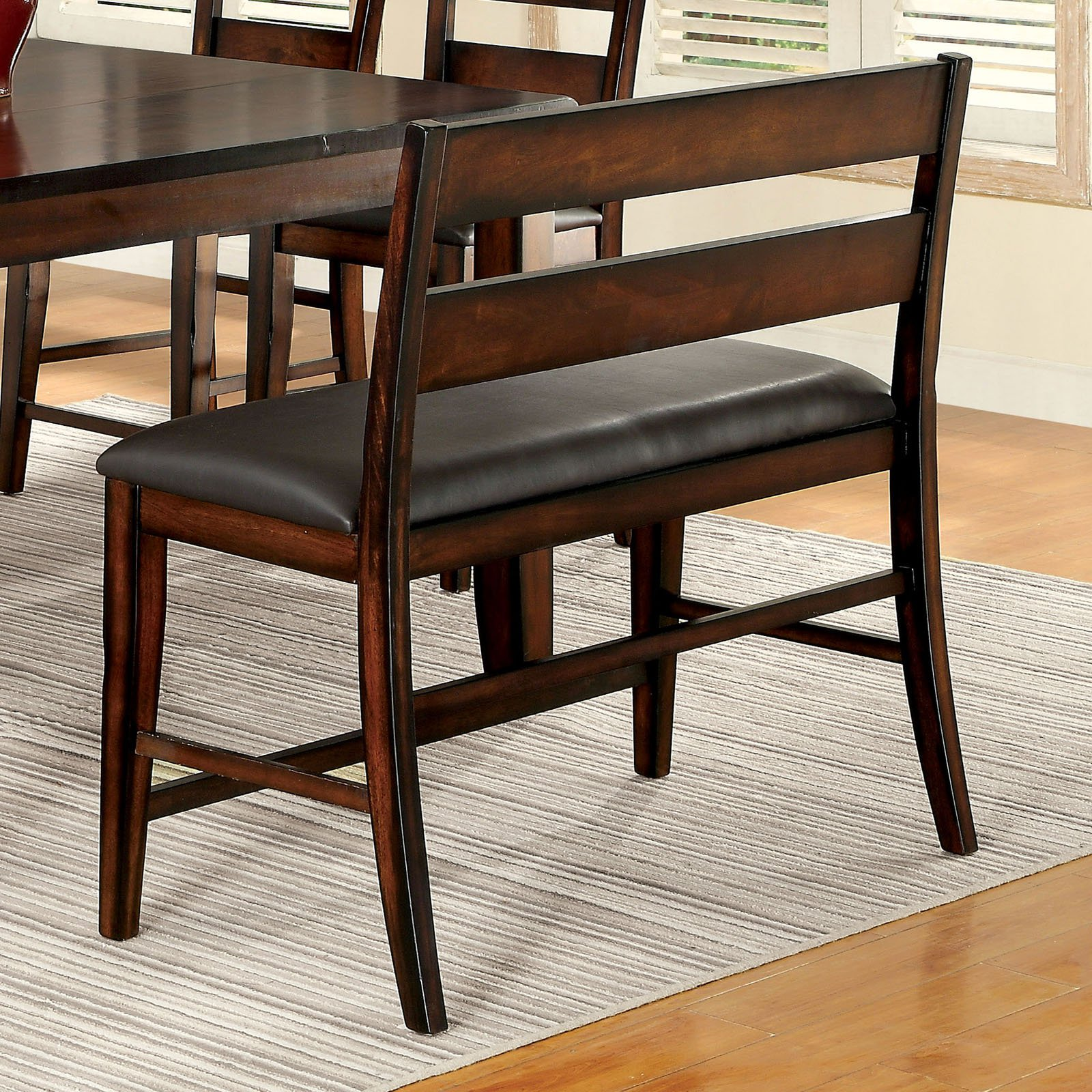 Furniture of America Gibson Counter Height Dining Bench