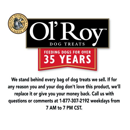 Ol' Roy Gravy Meaty Flavored Biscuits Dog Treats, Large, 15 lbs
