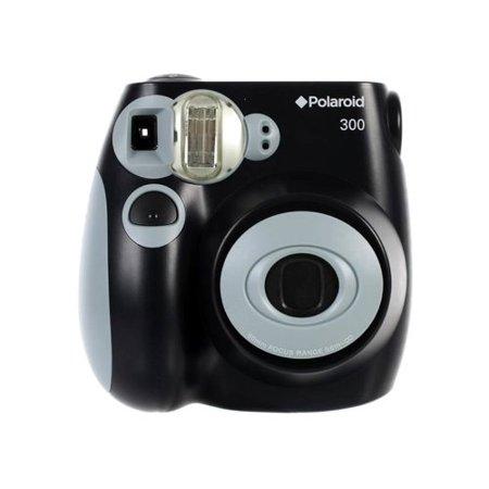 polaroid pic 300 instant film camera black. Black Bedroom Furniture Sets. Home Design Ideas