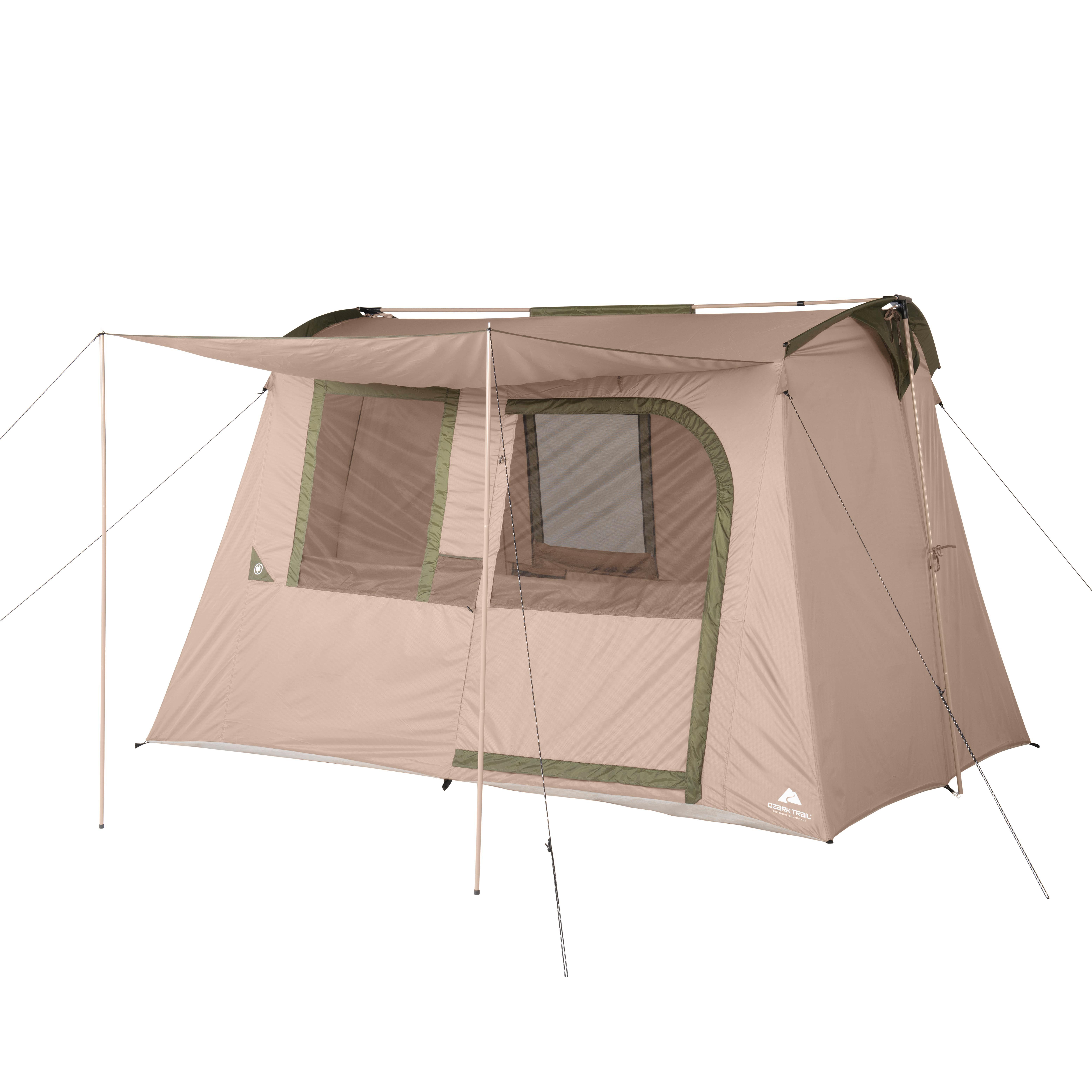 Ozark Trail 6-Person Flex Ridge Camping Tent - Walmart.com ...
