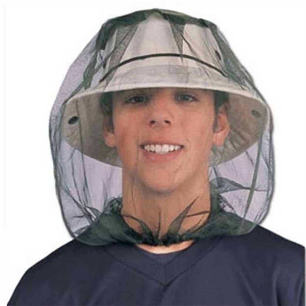 Midge Mosquito Insect Hat Bug Mesh Head Net Face Protective Cover for Outdoor Camping Travelling Backpacking Fishing by