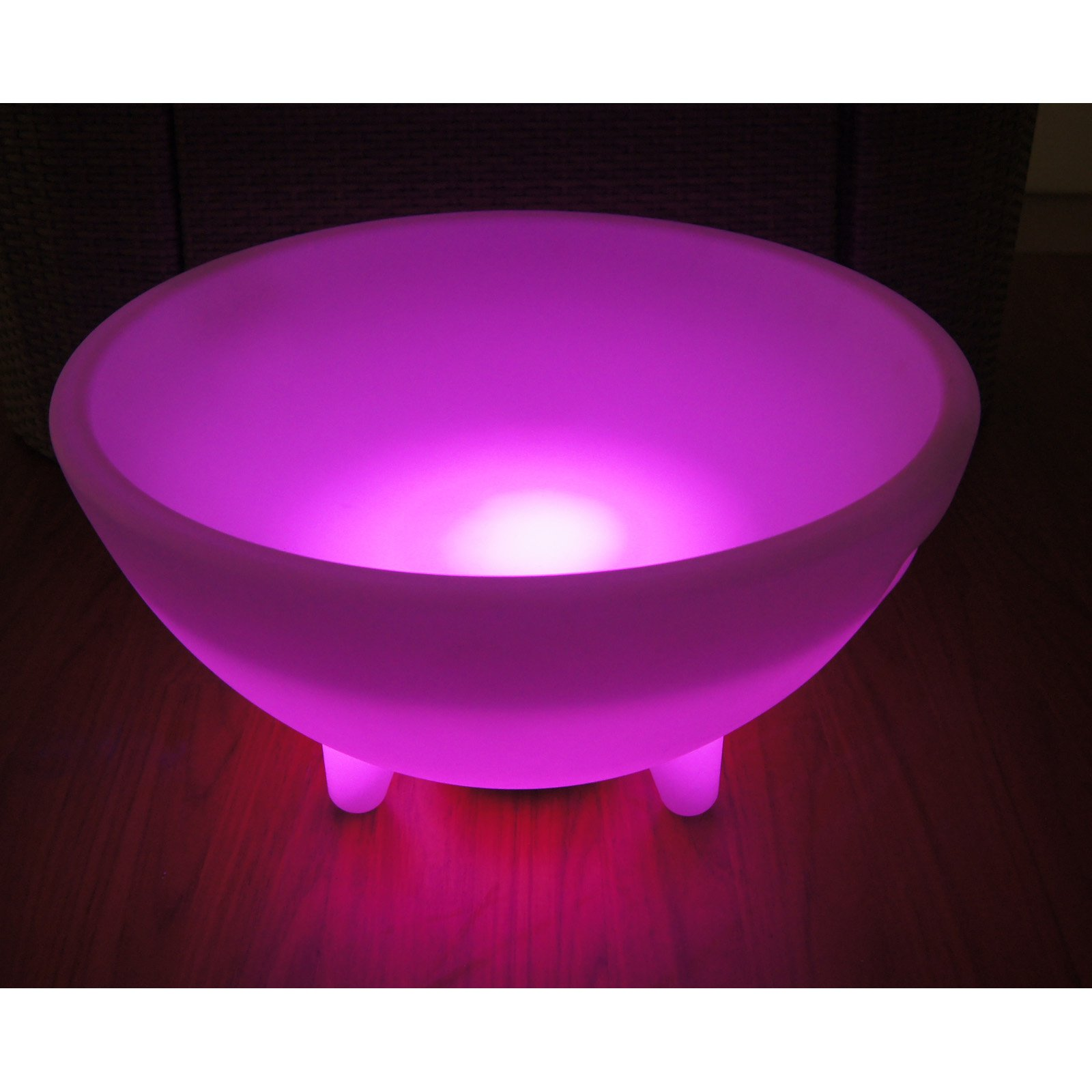 "24"" Round LED Ice Bucket with Speaker"